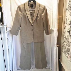 The Limited Tan 2-Piece Suit